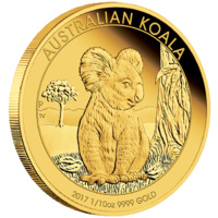 2017 Australian Koala 1/10oz Gold Proof Coin image