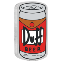2019 The Simpsons Duff Beer 1 oz Silver Proof Perth Mint Presentation Case & COA image
