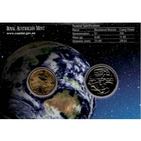 2008 International Year of Planet Earth Uncirculated RAMint 2 coin set image