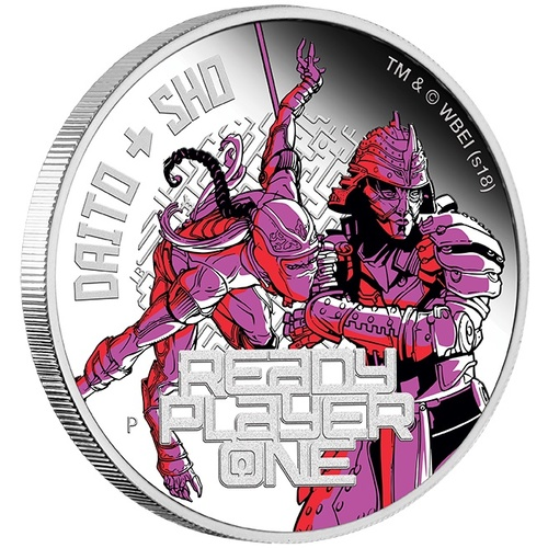 2018 Ready Player One: Daito & Sho 1 oz Silver Proof Perth Mint