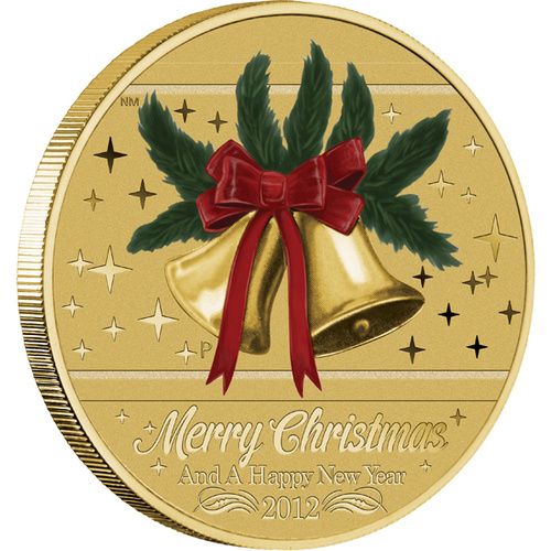 2012 Christmas Perth Mint Stamp & Coin PNC